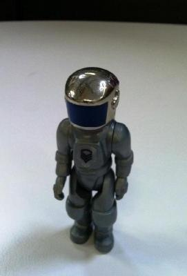 "At age 6, Scott named his favourite ""Construx"" spaceman figure ""Captain Spector""."