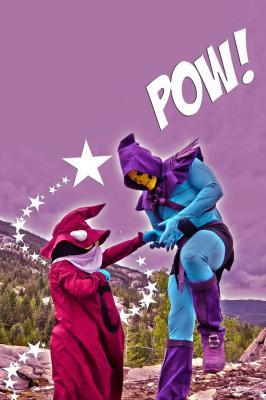 Orko Vs Skeletor