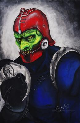 TRAP JAW (portrait by Angela Bermúdez)